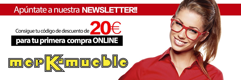 20 euros de regalo para tu primera compra online