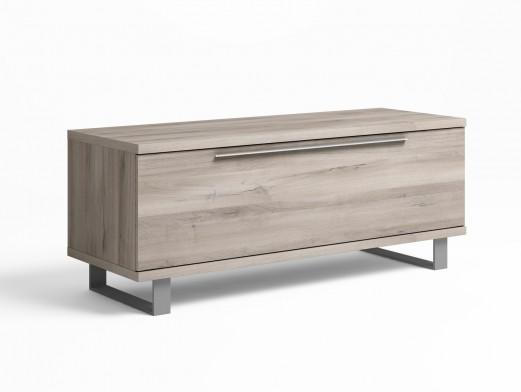 mueble de saln modular roble blanco