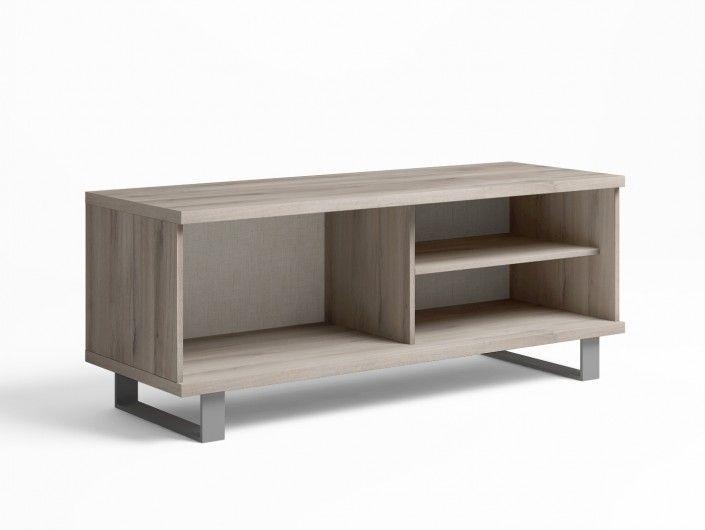 Mueble de salón modular nórdico/ visón