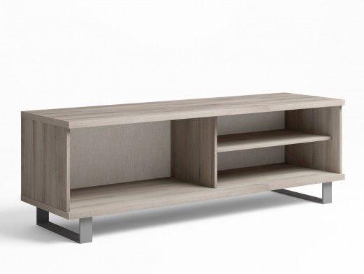 Mueble de salón modular nórdico/amarillo