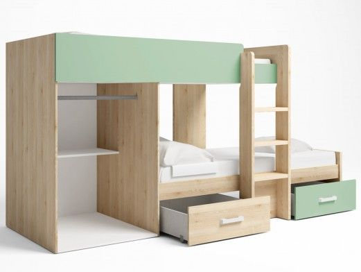 Sofá cama clic-clac polipiel negro