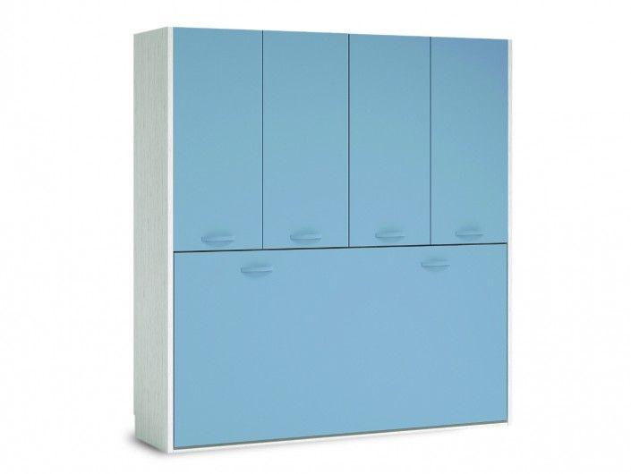 Dormitorio juvenil completo colores artic y fucsia for Sillon cama juvenil
