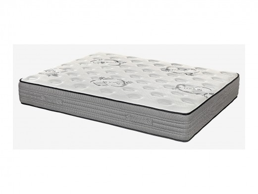 Dormitorio con cabecero tapizado modelo Fabián