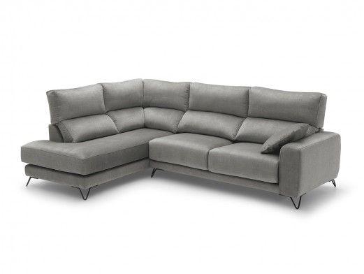 Sofá de piel modelo Samira