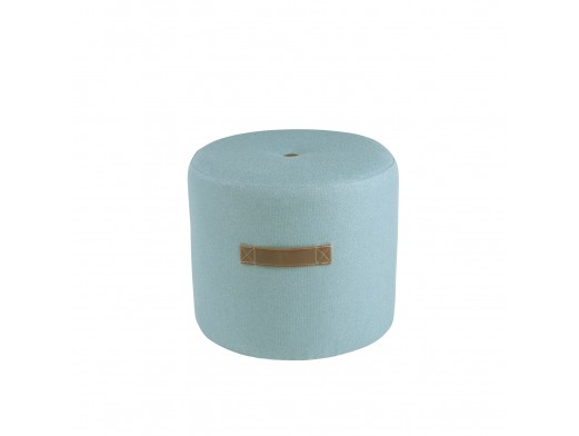 Jarrón 30 cm cristal azul AKBAR