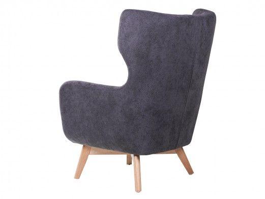 Mueble de salón modular acacia / cemento