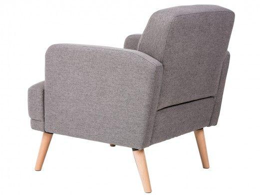 Mueble de salón modular blanco/acacia