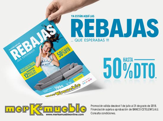 Promoción Actual: REBAJAS MERKAMUEBLE