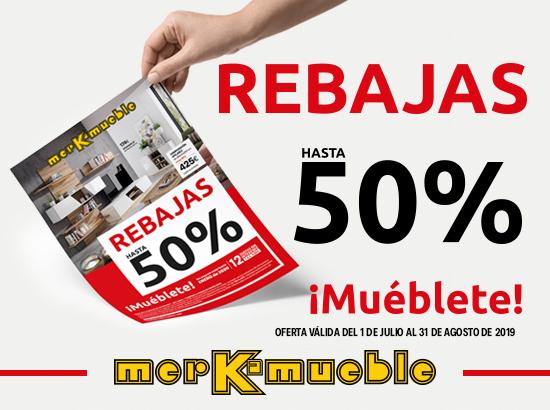 REBAJAS JULIO 2019 - MERKAMUEBLE