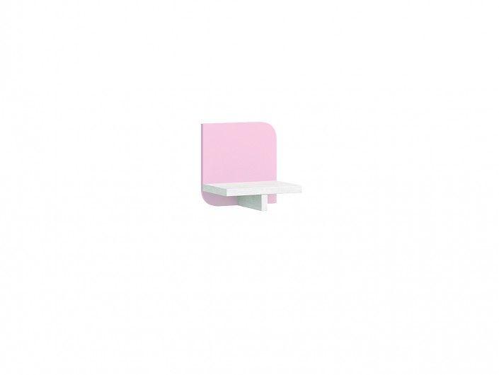 Estante pared color ártico rosa  merkamueble