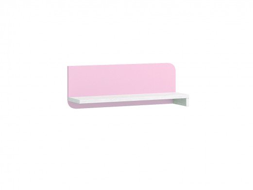 Estante pared color ártico-rosa  merkamueble