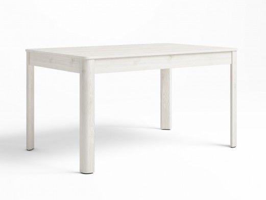 Mesa de comedor extensible color blanco polar  merkamueble
