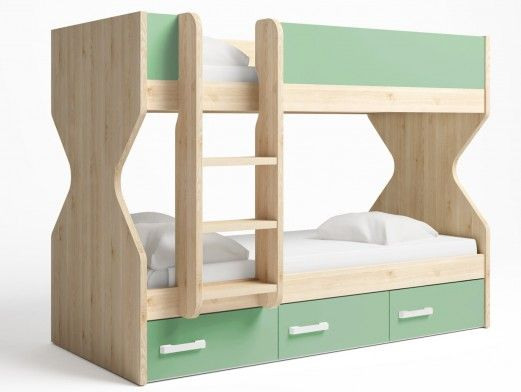 Litera 2 camas con 3...