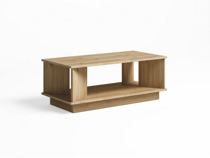 Mesa de centro rectangular color naturale  merkamueble