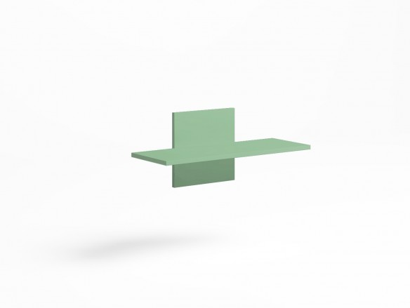 Estante pared color verde talco  merkamueble