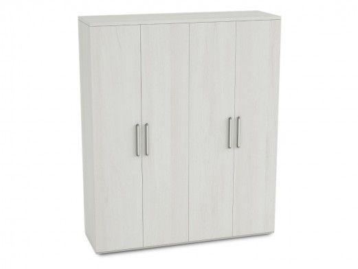Armario 4 puertas color polar  merkamueble
