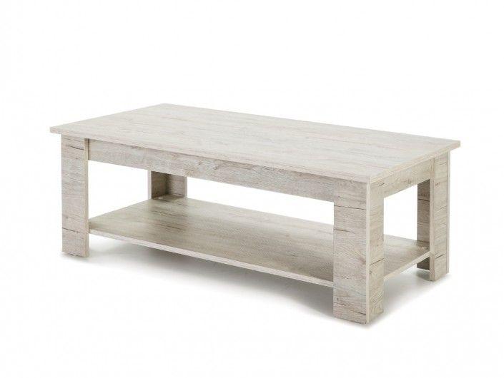 Mesa de centro rectangular fija  merkamueble