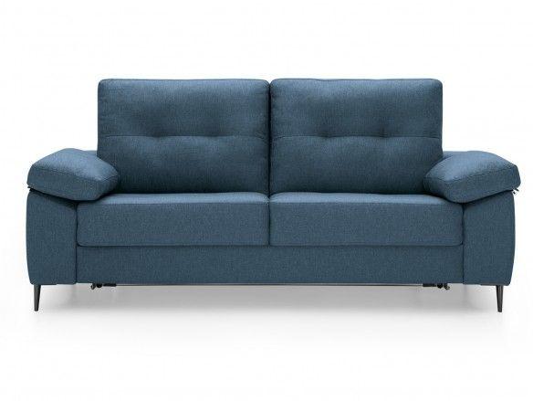 Sofá cama sistema de apertura italiano tapizado marino  merkamueble