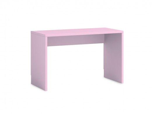 Escritorio 120 cm color rosa