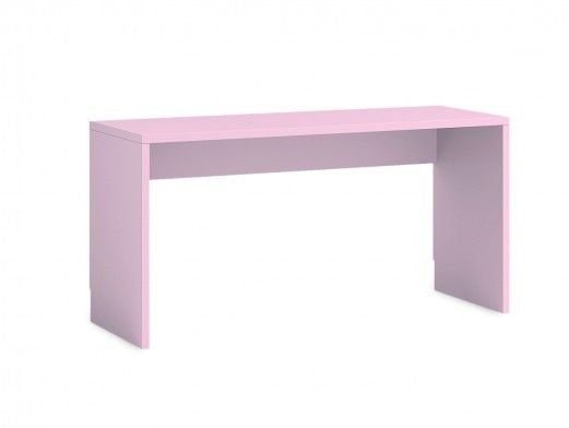 Escritorio 150 cm color rosa  merkamueble
