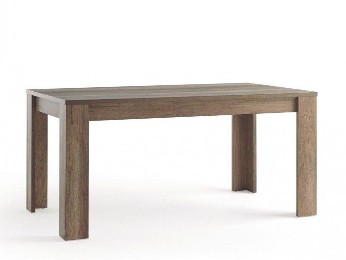 Mesa rectangular fija color madera  merkamueble