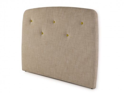 Cabecero tapizado savana taupe