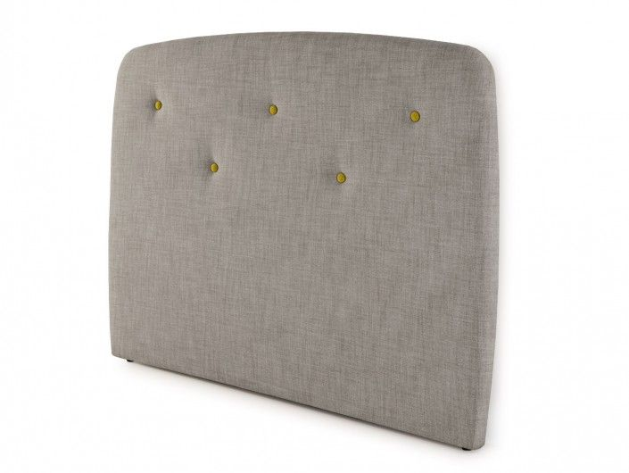 Cabecero tapizado savana light grey  merkamueble