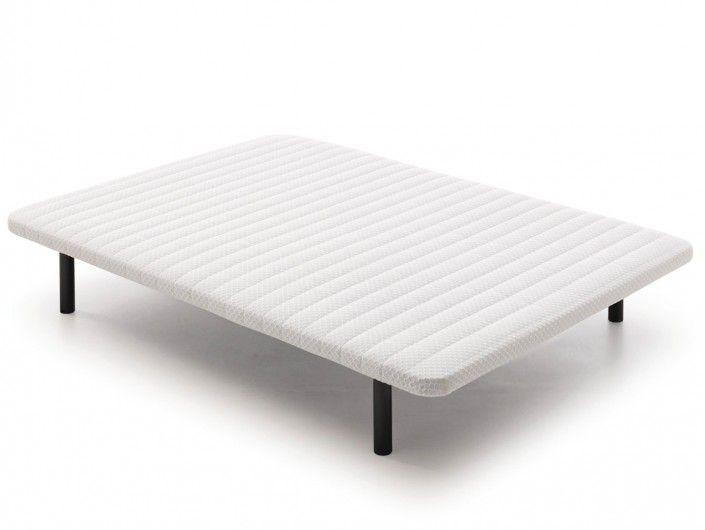 Base tapizada con 6 patas  merkamueble