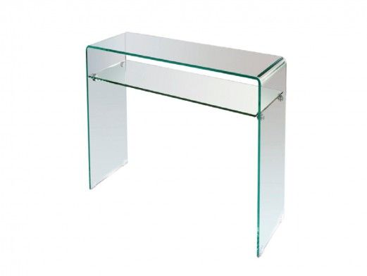 Consola cristal templado  merkamueble