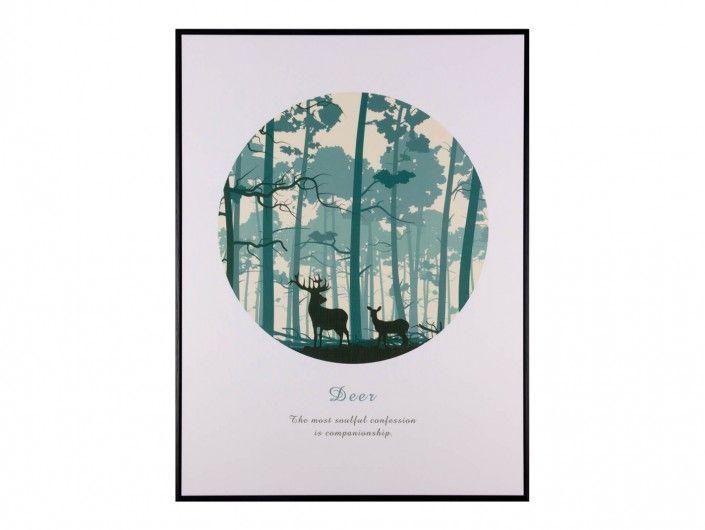 Cuadro bosque  merkamueble