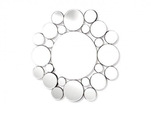 Espejo redondo círculos