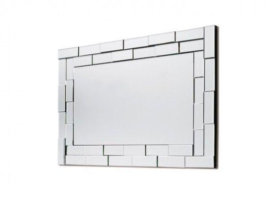 Espejo rectangular de cristal