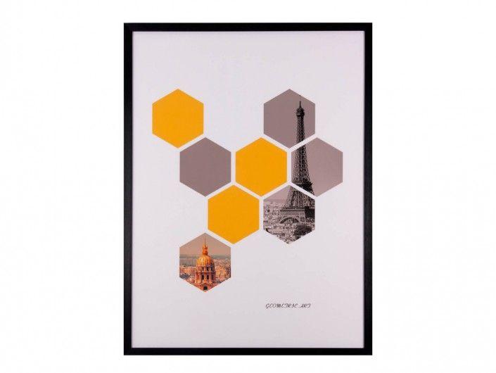 Cuadro geométrico  merkamueble