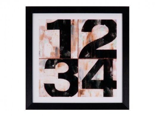 Cuadro números  merkamueble