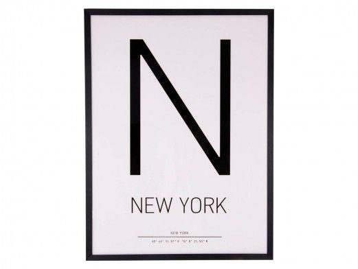 Cuadro New York  merkamueble