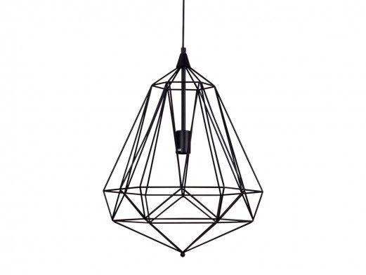 Lámpara de techo metálica  merkamueble