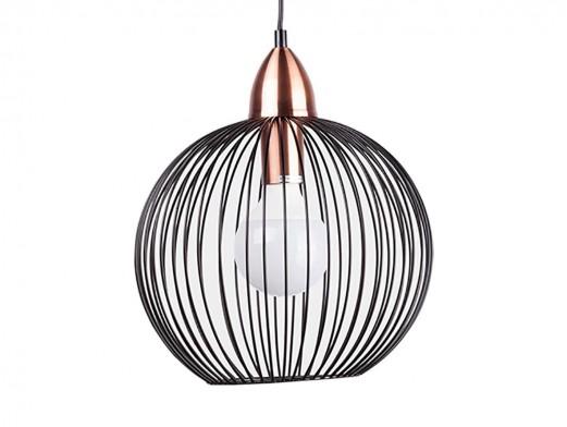 Lámpara de techo metálica