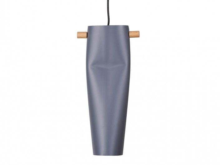 Lámpara de techo aluminio/madera  merkamueble