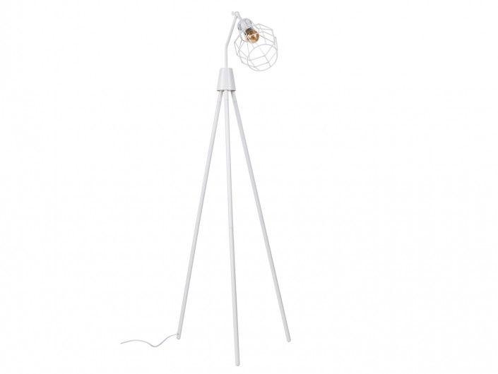 Lámpara de suelo metálica  merkamueble