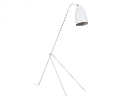 Lámpara de suelo metálica