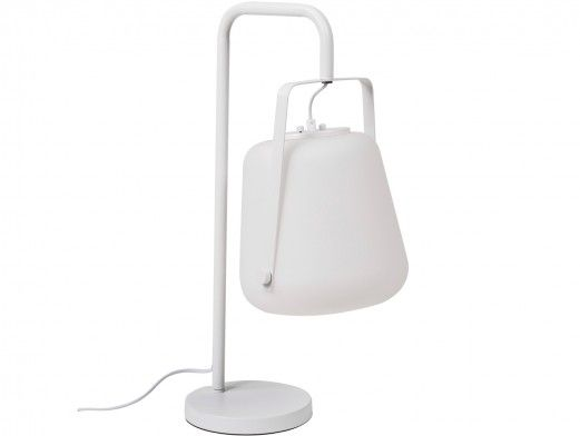 Lámpara de sobremesa metálica