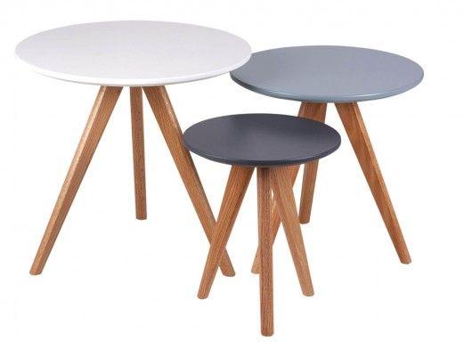 Set 3 mesas de centro...