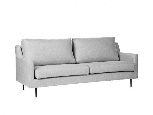 Sofá 3 plazas tapizado gris...